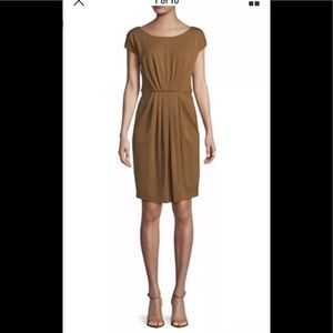 Max Mara weekend adagio dress brown tobacco M $475